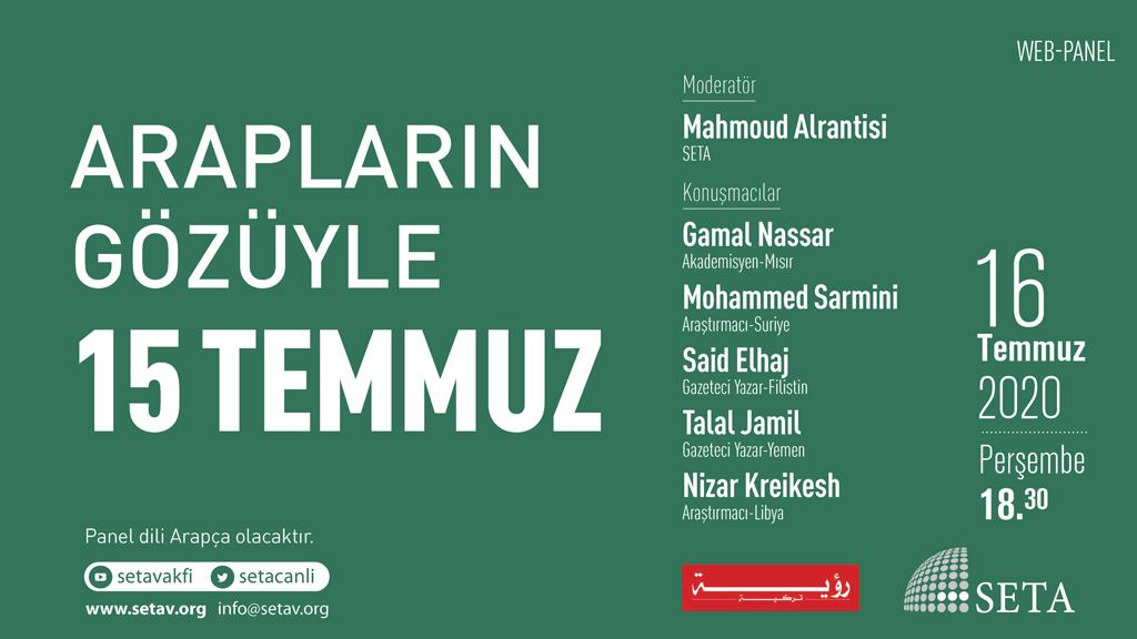 Web Panel: Arapların Gözüyle 15 Temmuz