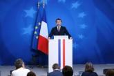18 Ekim 2019 | Macron, Brüksel'deki AB Liderler Zirvesi'nin ardından düzenlediği basın toplantısında.