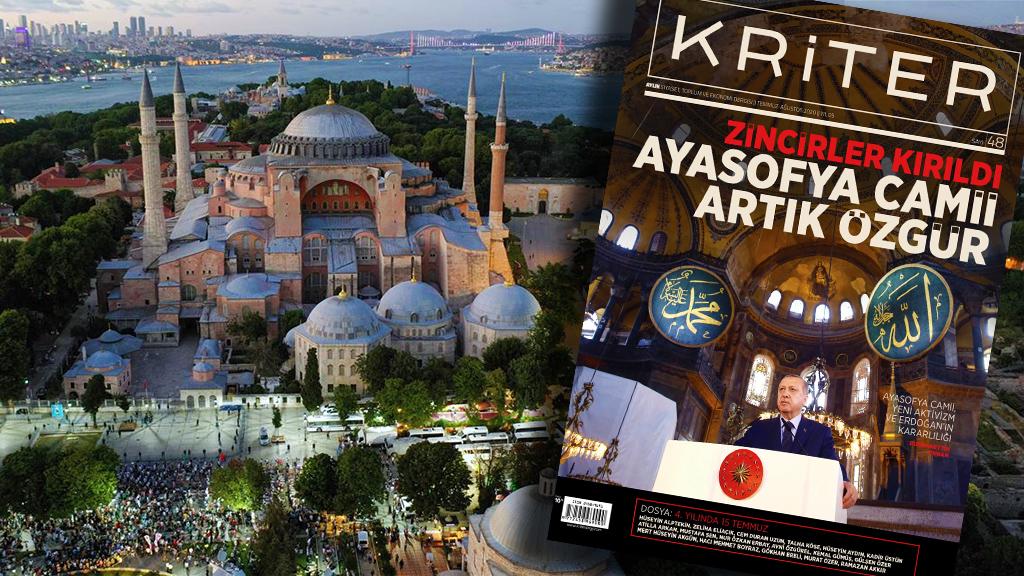 Kriter'in Temmuz-Ağustos Sayısı Çıktı: Zincirler Kırıldı, Ayasofya Camii Artık Özgür