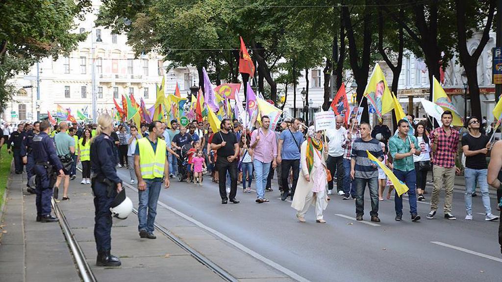 Odak: Avusturya'da PKK Gösterileri