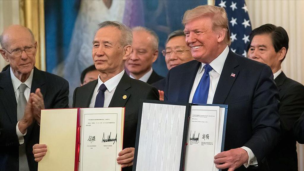 Perspektif: ABD-Çin Birinci Faz Ticaret Anlaşması'na Koronavirüsün Etkisi
