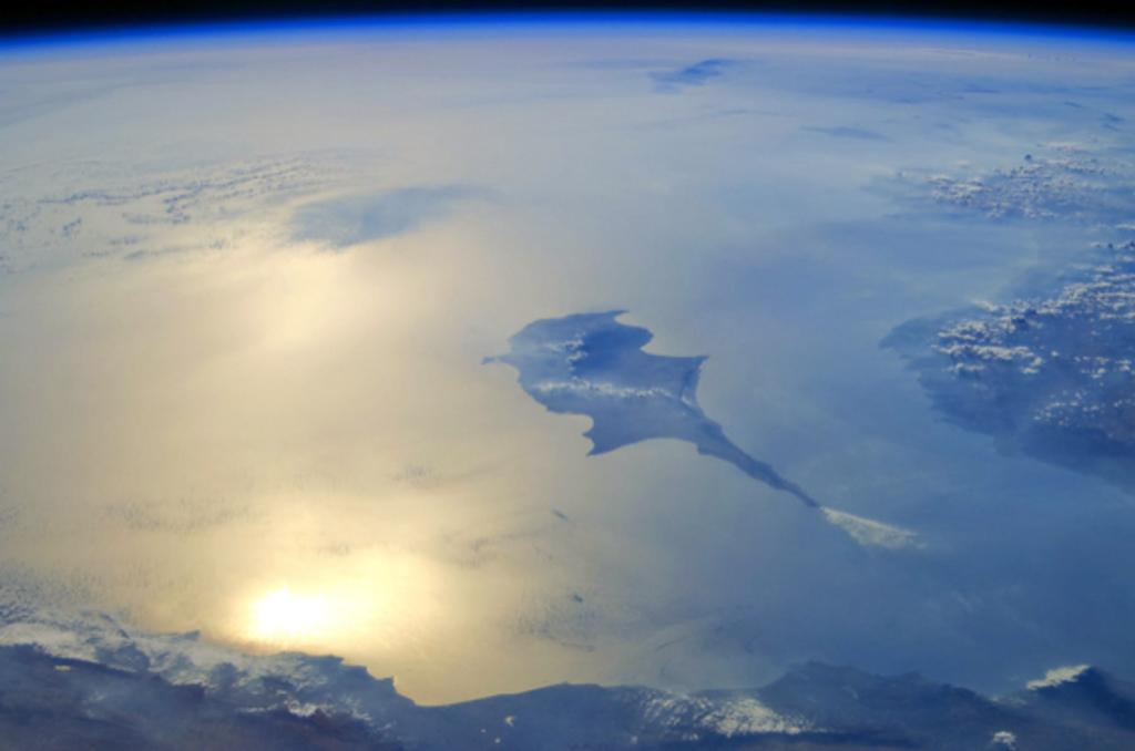 Uzaydan Doğu Akdeniz