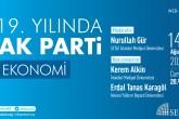 Web Panel: 19. Yılında AK Parti | EKONOMİ