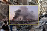 6 Ağustos 2020   Lübnan'ın başkentindeki Beyrut Limanı'ndaki patlamanın ardından çevredeki birçok bina hasar görürken, bölgede çalışmalar sürdü.