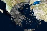 Yunanistan, uydu görüntüsü