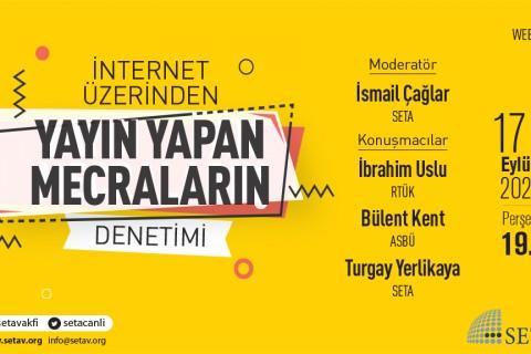 Web Panel: İnternet Üzerinden Yayın Yapan Mecraların Denetimi
