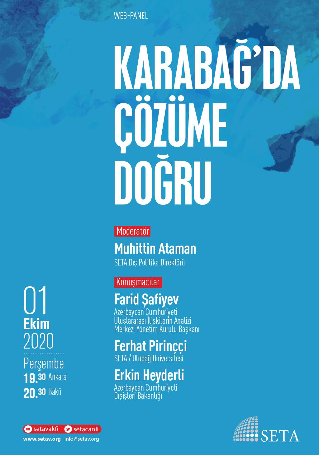 Web Panel: Karabağ'da Çözüme Doğru