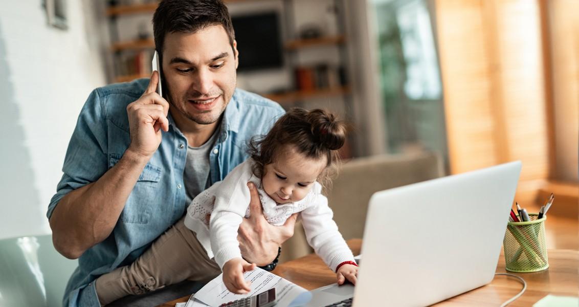 Analiz: Koronavirüs Günlerinde İş ve Aile Arasında Babalık