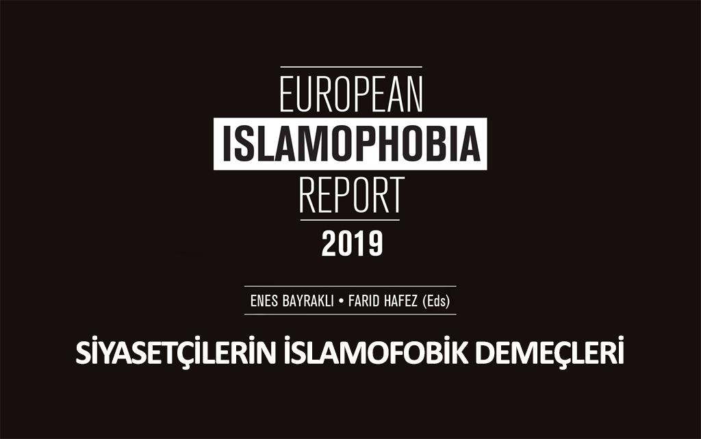 İnfografik: Siyasetçilerin İslamofobik Demeçleri | #EIR2019