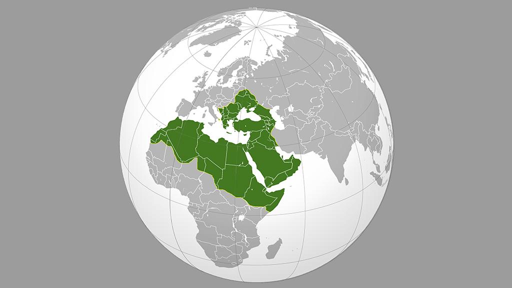 Osmanlı İmparatorluğu'nun yerküredeki konumu
