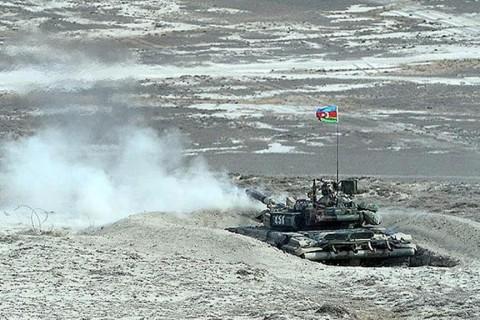 Azerbaycan-Ermenistan Sınır Cephesi Hattı