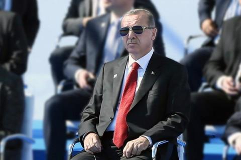 Cumhurbaşkanı Recep Tayyip Erdoğan 2017 NATO Devlet ve Hükümet Başkanları Toplantısı'nda