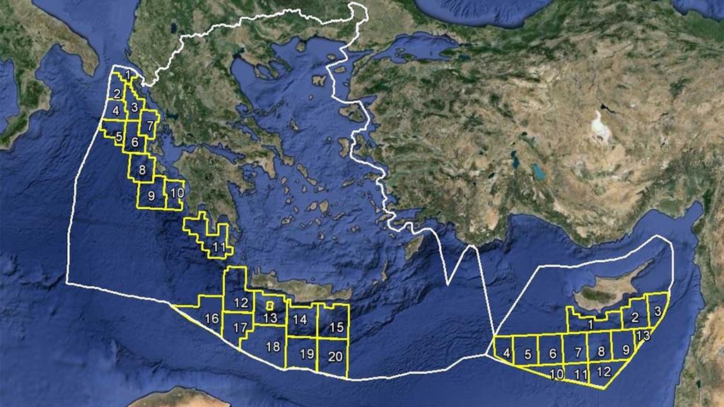 Yunanistan'ın tezine göre MEB sınırlandırması