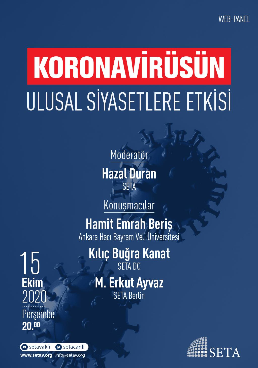 Web Panel: Koronavirüsün Ulusal Siyasetlere Etkisi