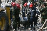 11 Ekim 2020 | Ermenistan ordusunun, ateşkesin üzerinden 24 saat geçmeden, Azerbaycan'ın Gence kentine füzelerle saldırması sonucu 5 kişi öldü, 28 kişi de yaralandı. (AA)