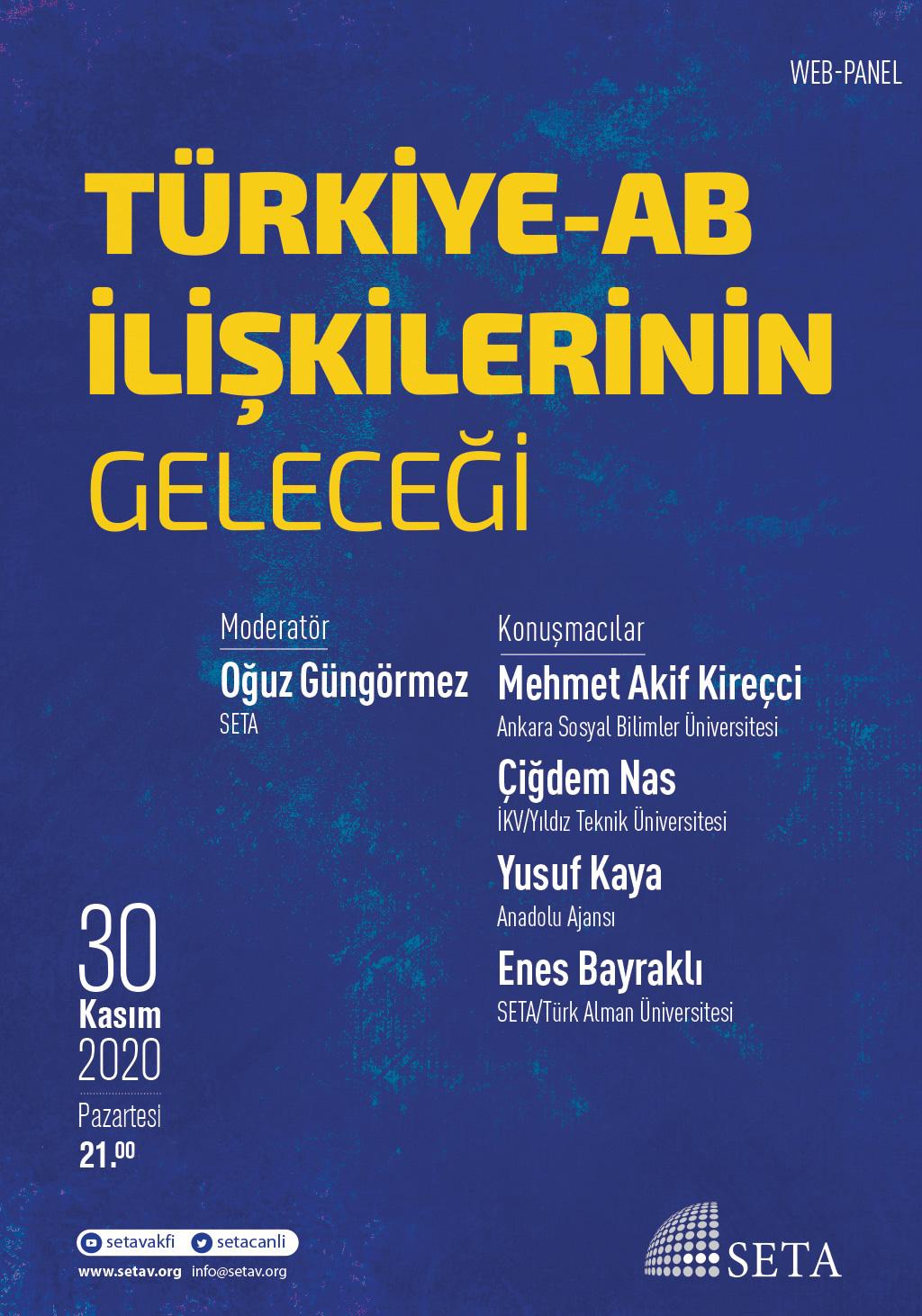 Web-Panel: Türkiye-AB İlişkilerinin Geleceği