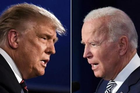 Cumhuriyetçilerin Başkan Adayı Donald Trump (solda) ve Demokratların Başkan Adayı Joe Biden