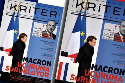 Kriter'in Kasım Sayısı Çıktı: Macron Uçuruma Sürüklüyor