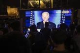 8 Kasım 2020   ABD başkanlığına seçilen Joe Biden,akşam saatlerinde gerçekleştirdiği  zafer konuşmasında, ''Bölen değil, birleştiren bir başkan olacağıma söz veriyorum.'' dedi.