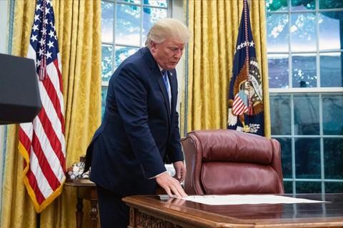 Amerika Birleşik Devletleri'nin 45. başkanı Donald Trump