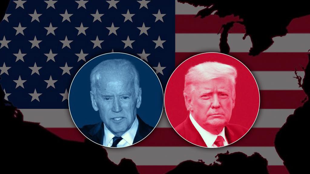 Demokratların Başkan Adayı Joe Biden (solda) ve Cumhuriyetçilerin Başkan Adayı Donald Trump