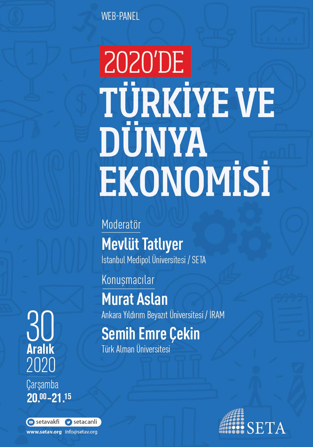 Web Panel: 2020'de Türkiye ve Dünya Ekonomisi