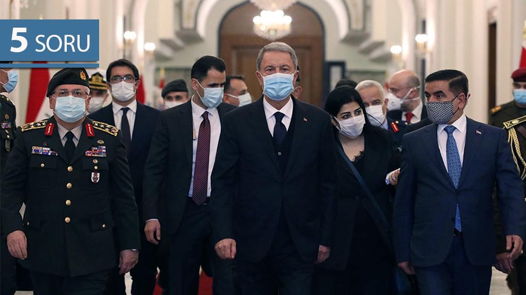 5 Soru: Milli Savunma Bakanı Hulusi Akar'ın Irak Ziyaretinin Anlamı