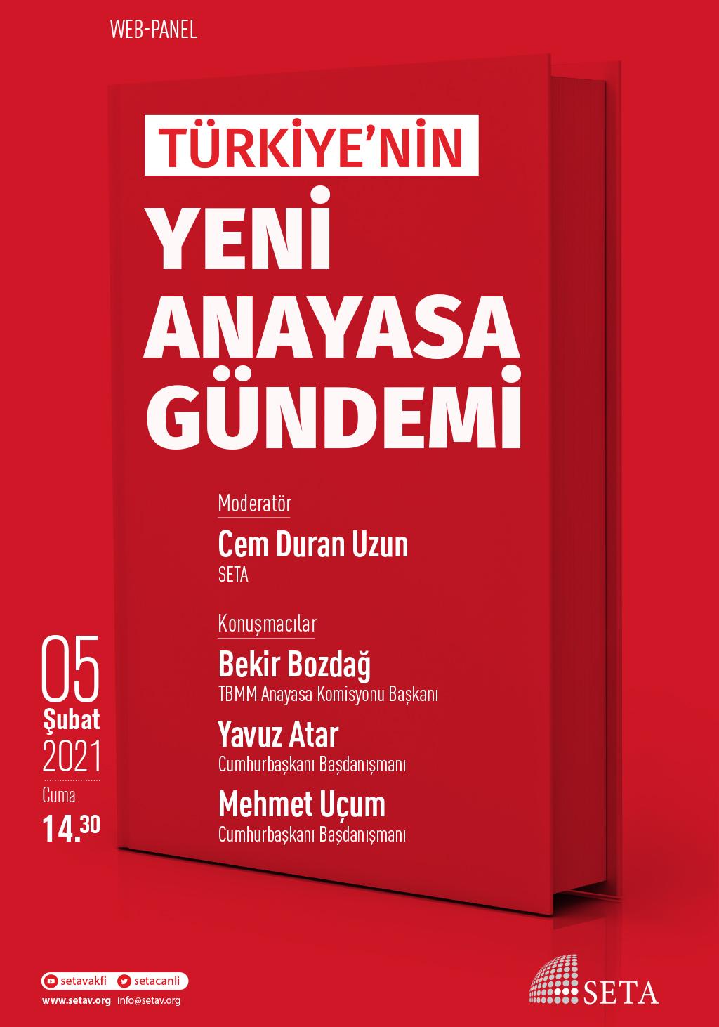 Web Panel: Türkiye'nin Yeni Anayasa Gündemi