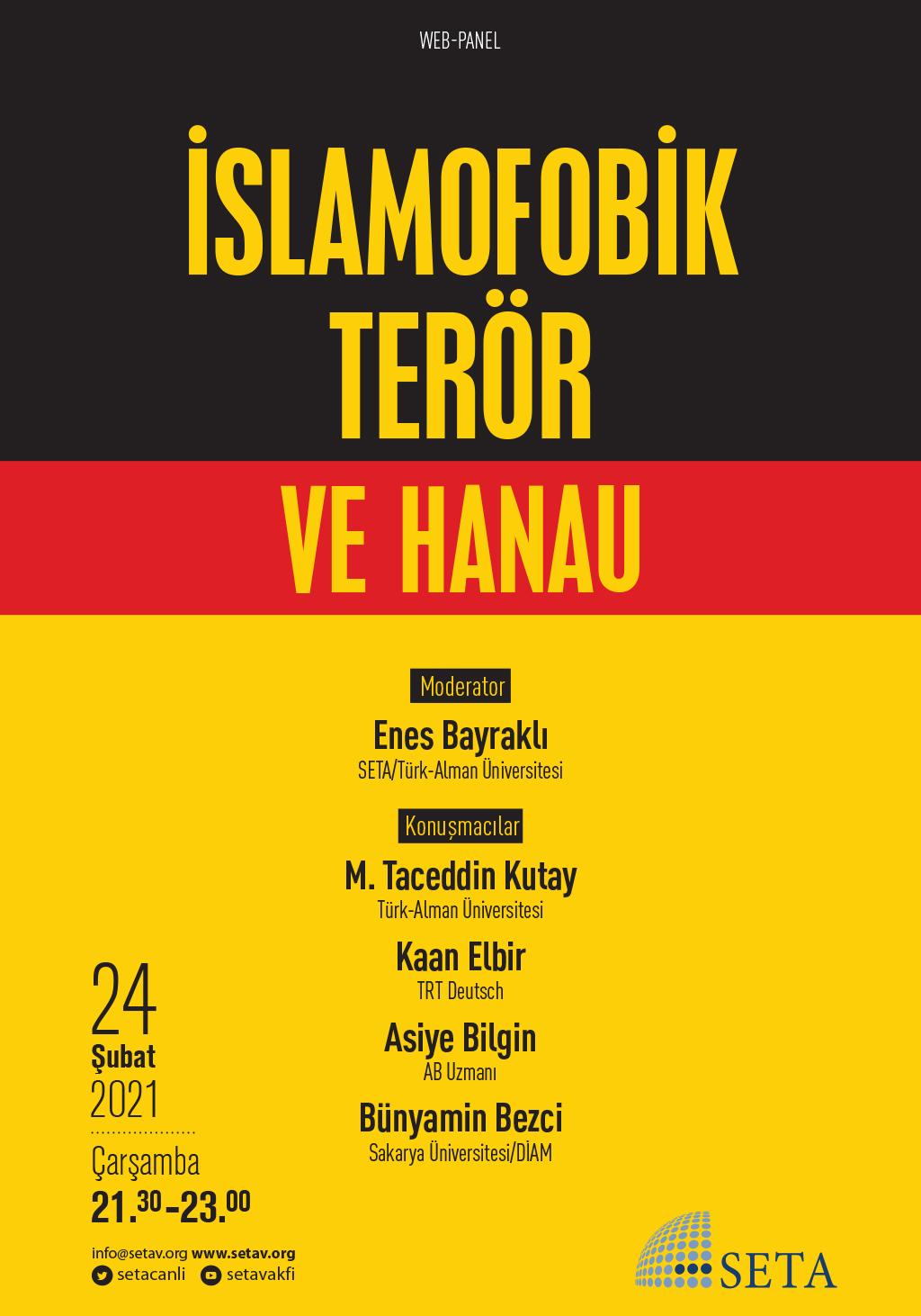 Web Panel: İslamofobik Terör ve Hanau