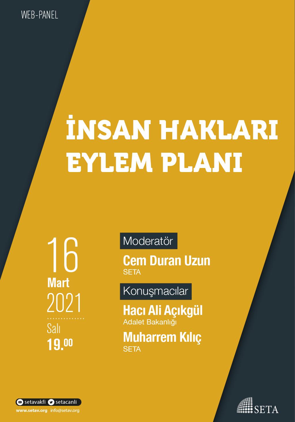 Web Panel: İnsan Hakları Eylem Planı