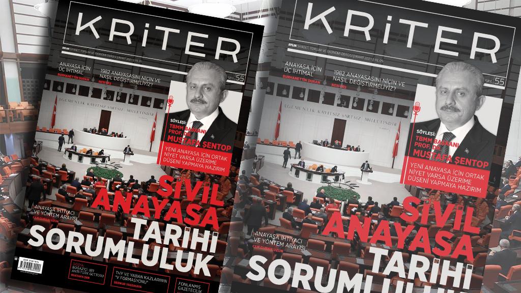 Kriter'in Mart Sayısı Çıktı: Sivil Anayasa Tarihi Sorumluluk
