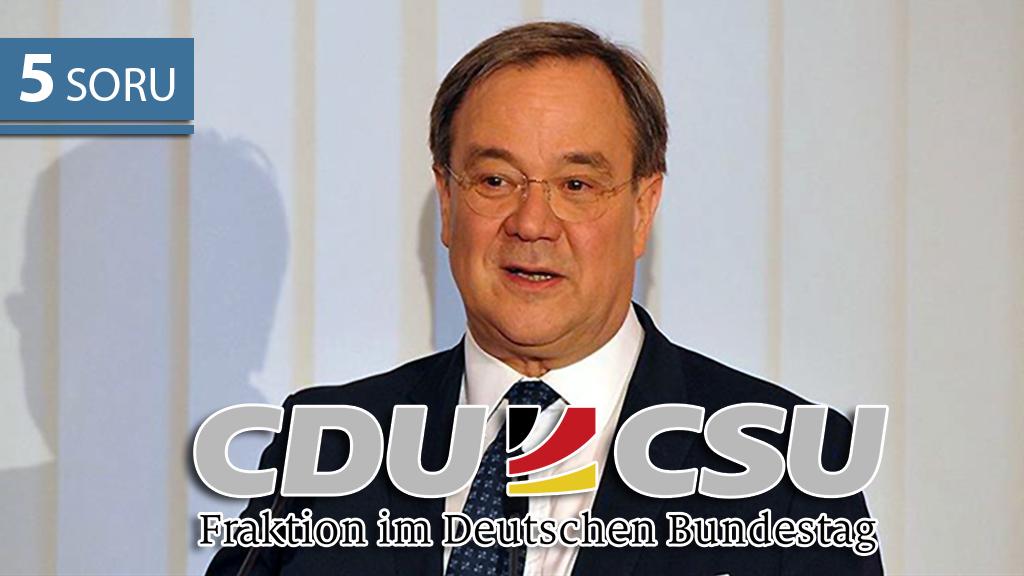 5 Soru: CDU/CSU'nun 2021 Şansölye Adayı
