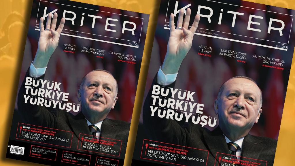 Kriter'in Nisan Sayısı Çıktı: Büyük Türkiye Yürüyüşü