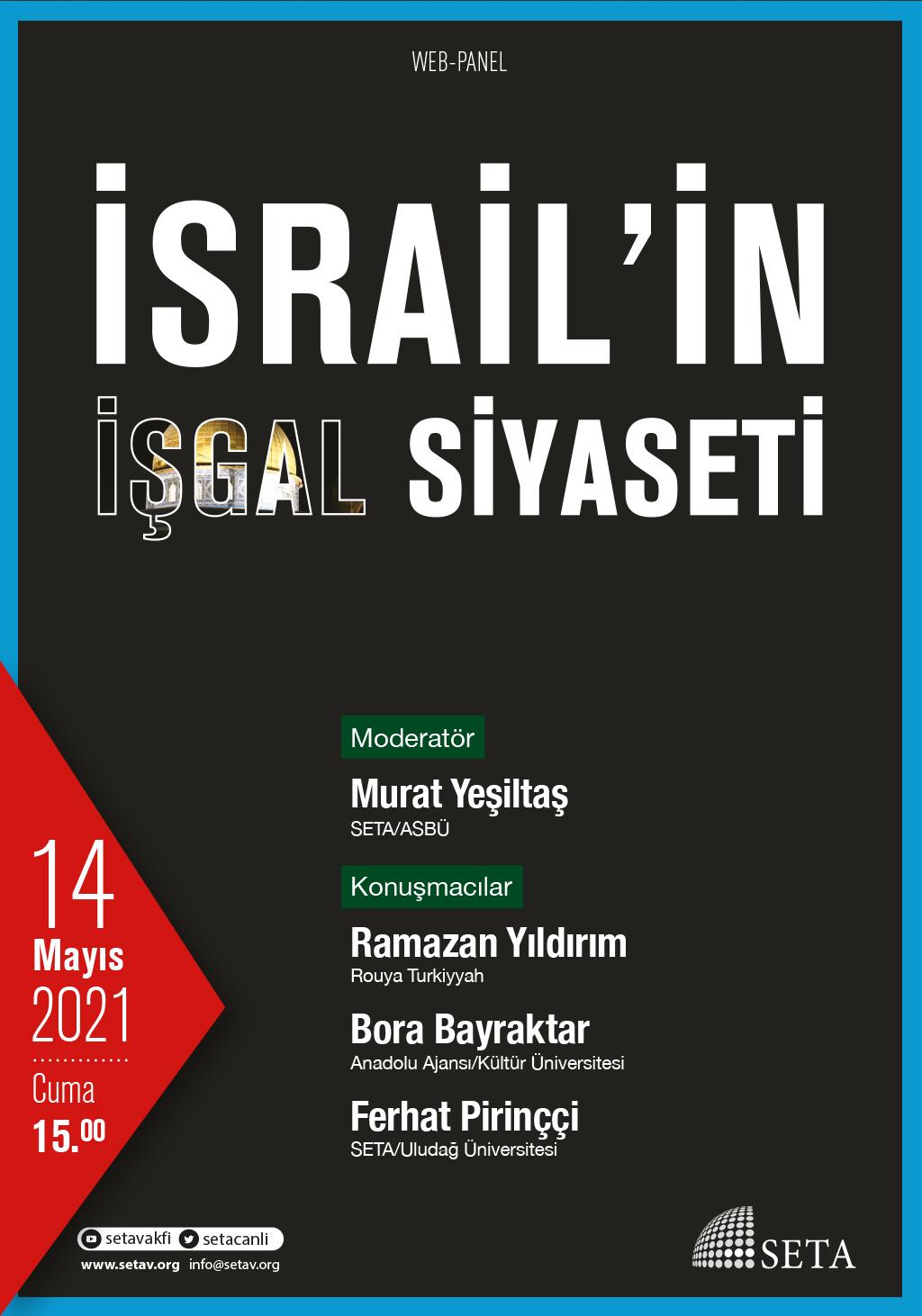 Web Panel: İsrail'in İşgal Siyaseti