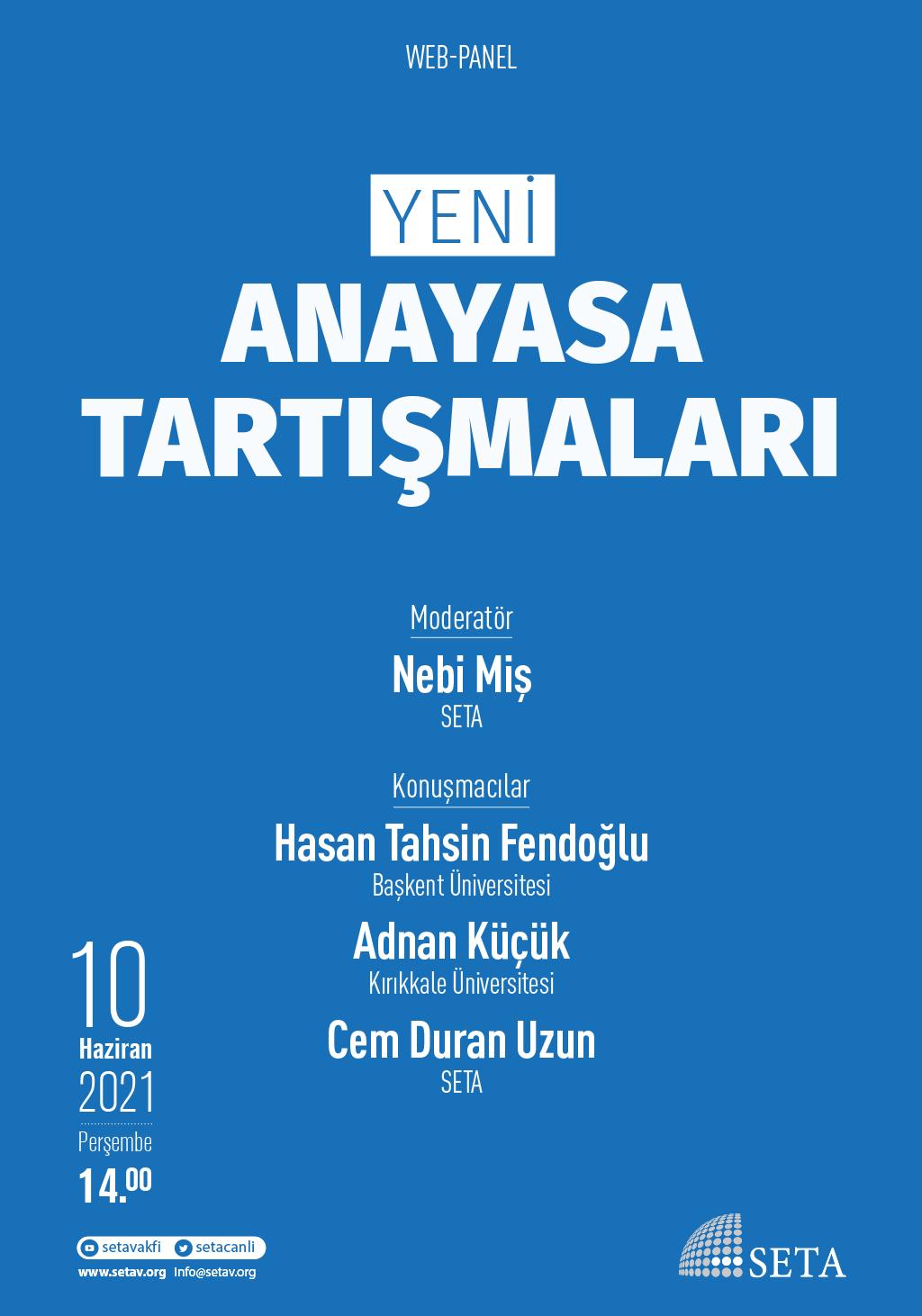 Web Panel: Yeni Anayasa Tartışmaları