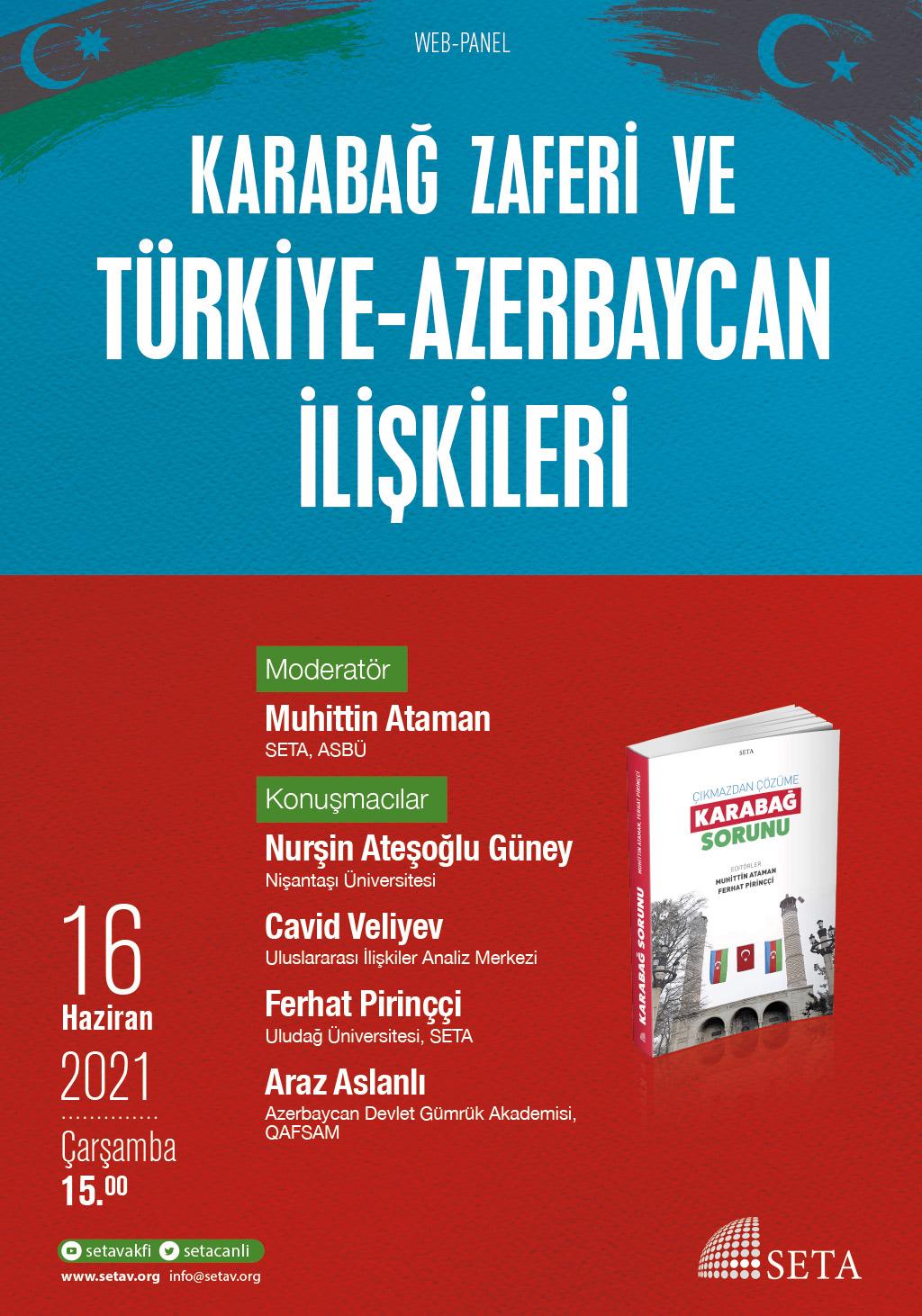 Web Panel: Karabağ Zaferi ve Türkiye-Azerbaycan İlişkileri