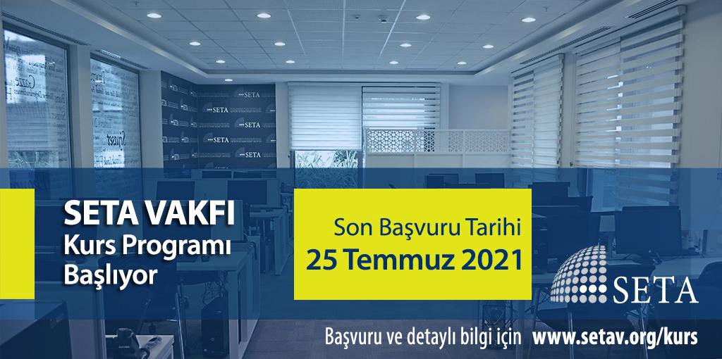 SETA 2021 Yaz Dönemi Kurs Programı Başlıyor