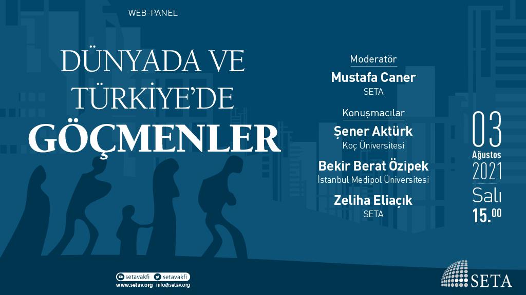 Web Panel: Dünyada ve Türkiye'de Göçmenler