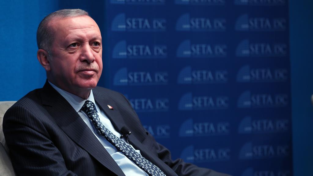 Cumhurbaşkanı Erdoğan, FPA ve SETA DC Tarafından Düzenlenen Programa Katıldı