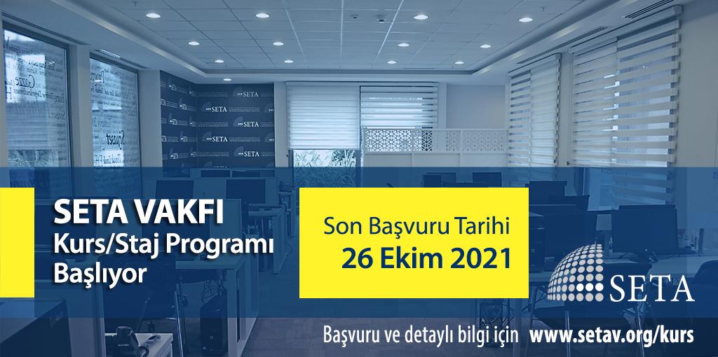SETA 2021 Güz Dönemi Kurs Programı Başlıyor
