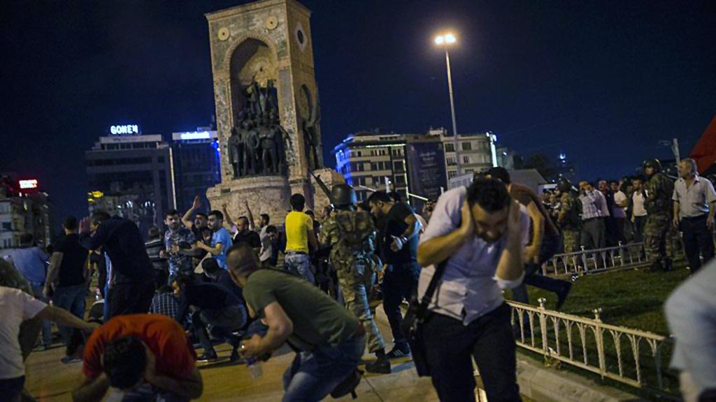 Putschversuch - Taksim