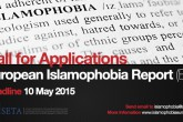 Call for Applications: European Islamophobia Report
