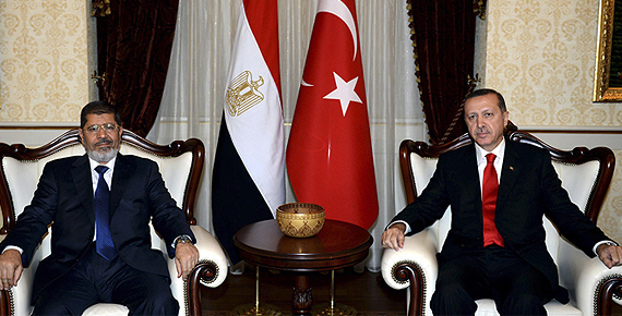 `Egypt Turkey` Axis and the New Middle East Geopolitics
