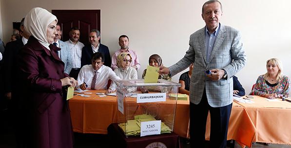 Erdogan Wrapped Up in Modern Turkey's Destiny