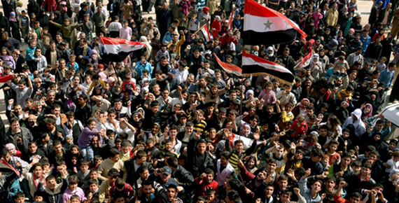 Syria in between ideological politics and reel politik