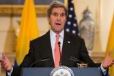 ABD Dışişleri Bakanı John Kerry (fotoğrafta), Kolombiya Devlet Başkanı Juan Manuel Santos ile Dışişleri Bakanlığında düzenlediği ortak basın toplantısında Suriye ile ilgili son gelişmeleri değerlendirdi. ( Samuel Corum - Anadolu Ajansı )