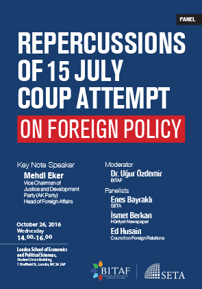 Repercussions of 15 July Coup Attempt in Turkey on Foreign Policy