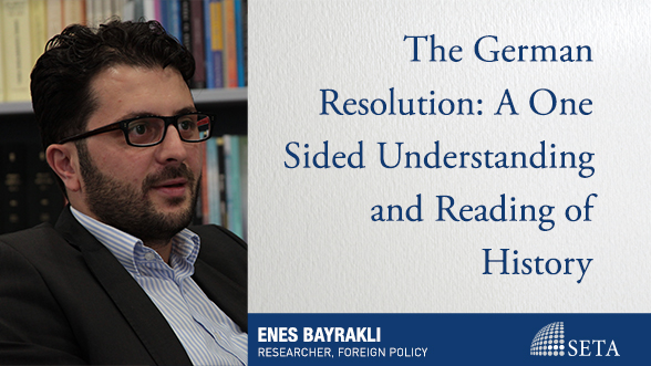 The German Resolution: A One Sided Understanding and Reading of History