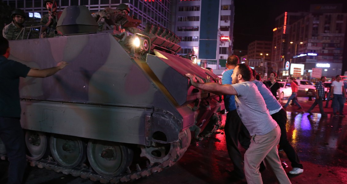 "The July 15 Resistance by the Turkish People: Googling ""How to Stop a Tank"""