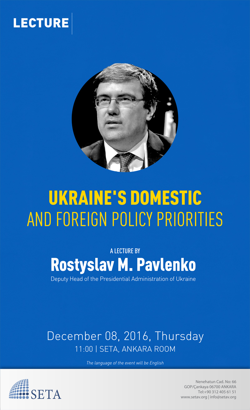 Ukraine's Domestic and Foreign Policy Priorities